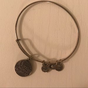Alex and Ani bracelet - Live in the Moment- Bronze